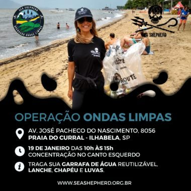 Operação Ondas Limpas Ilhabela SP @ Praia do Curral