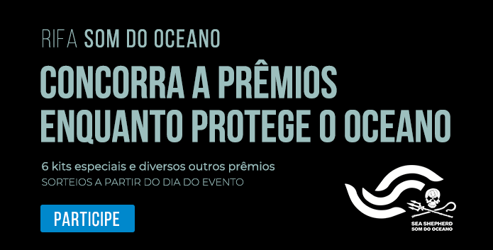 Rifa - Concorra a prêmios enquanto apoia os oceanos