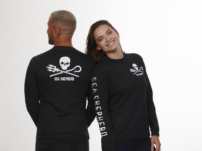 Camisetas da loja Sea Shepherd